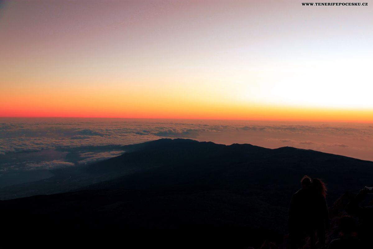 Výlet na Pico el Teide - pěšky na východ slunce
