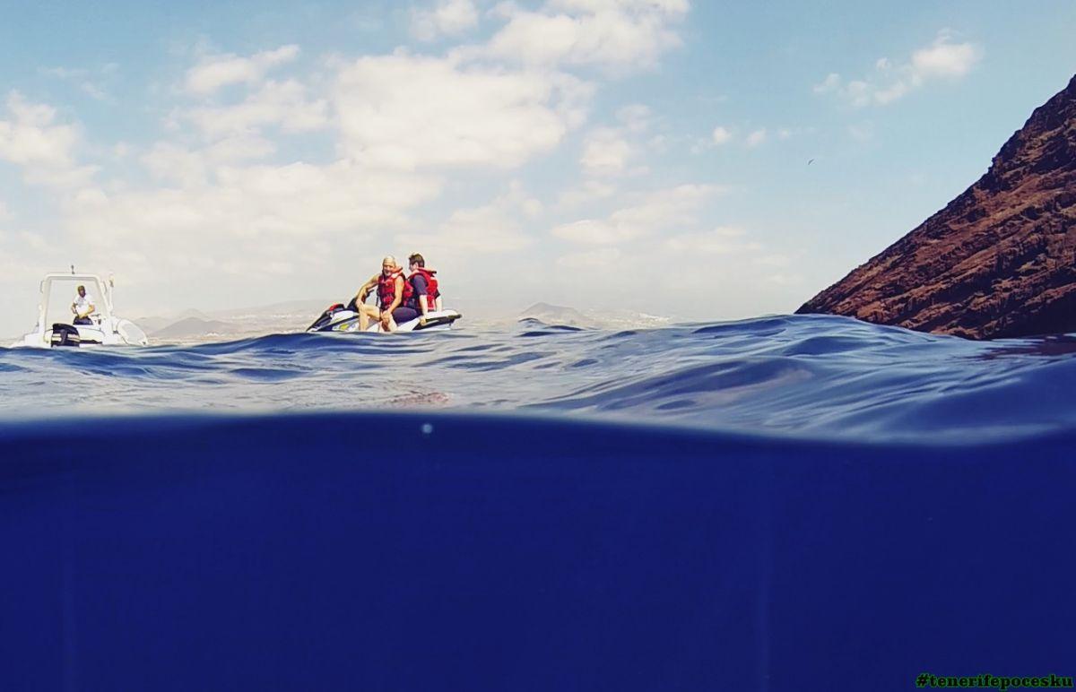 Jízda na vodním skútru pro dvě osoby